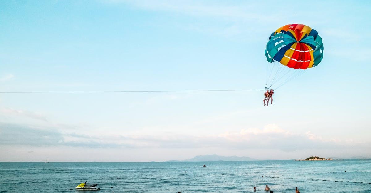activités nautiques à tester parachute ascensionnel 13