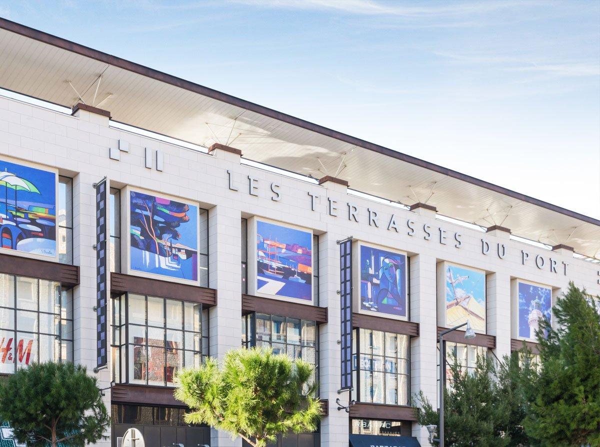 centres commerciaux les terrasses du port